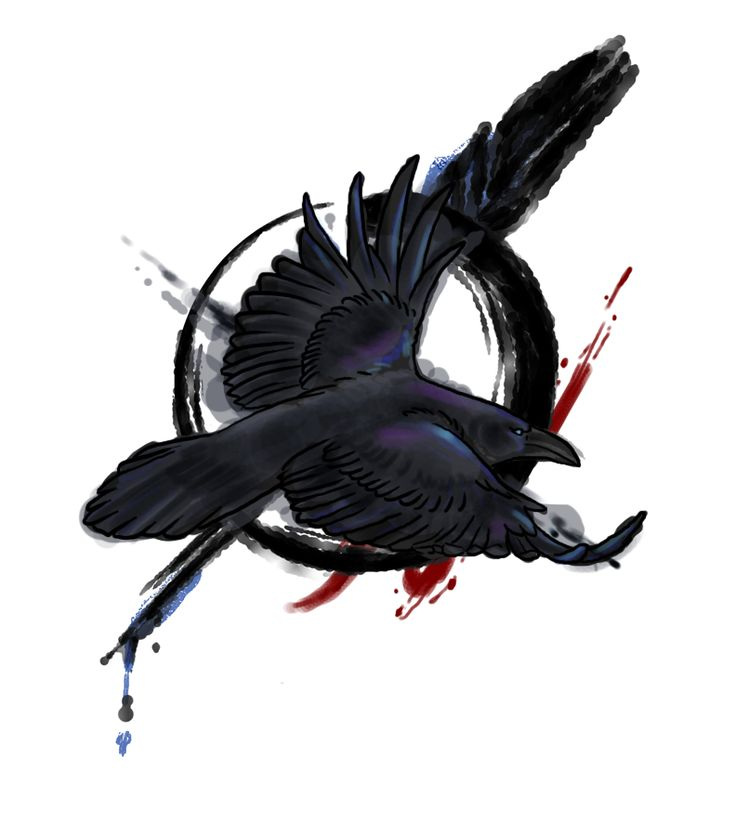 tattoo design by endejester on deviantart raven artwork