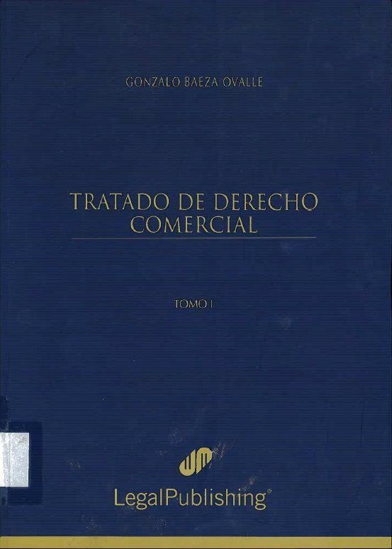 Tratado de derecho comercial. Proyecto de biblioteca UST. Adquisición de bibliografía básica. Derecho. Cod. Asig. DER-093-098 Solicitar por: 346.8307 B142t Tomo I.