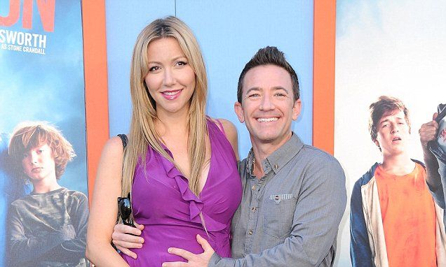 David Faustino and fiancée Lindsay Bronson welcome daughter Ava via Daily Mail