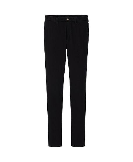 WOMEN LEGGINGS PANTS - black   uniqlo