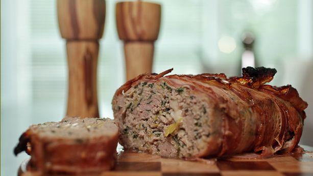 Pain de viande dinde et bacon   Recettes   Signé M   Émission TVA