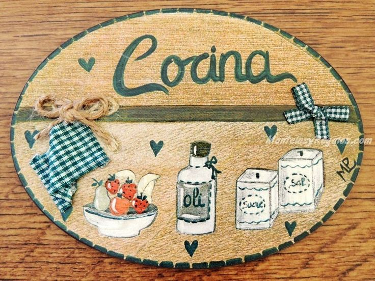 33 best images about placas para puertas on pinterest for Recipientes cocina