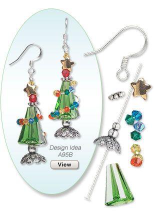 Christmas Earring Design Idea A95B
