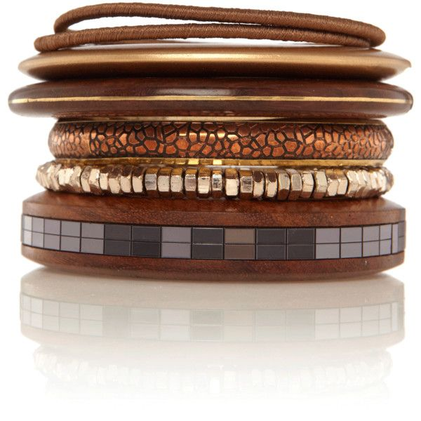 .Brown Bracelets, Brown Bronze Copp, Brown Fashion, Bronze Bronze, Brown Bangles, Stacked Sets, Bangles Stacked, Brownze Copper Taupe, Bronze Bangles