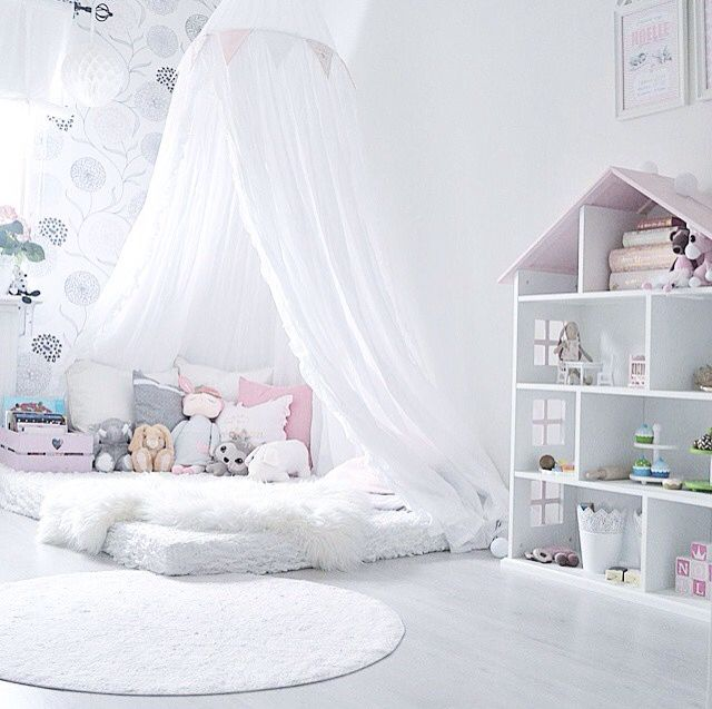 Love this idea of a soft corner! Would be perfect for Spencer's room
