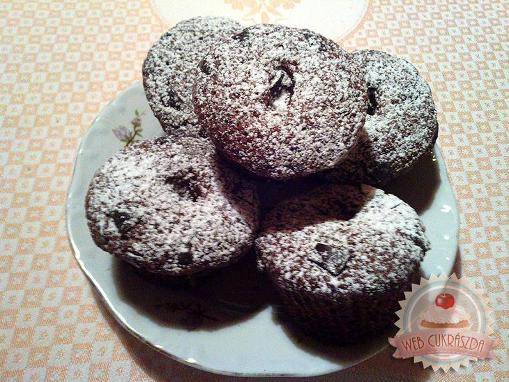 Zserbó muffin