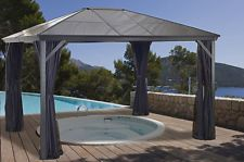 [$959.99 save 17%] Sojag Verona Hard Top Gazebo 10x12 with Polycarbonate Roof and Mosquito Netting http://www.lavahotdeals.com/ca/cheap/sojag-verona-hard-top-gazebo-10x12-polycarbonate-roof/169154?utm_source=pinterest&utm_medium=rss&utm_campaign=at_lavahotdeals