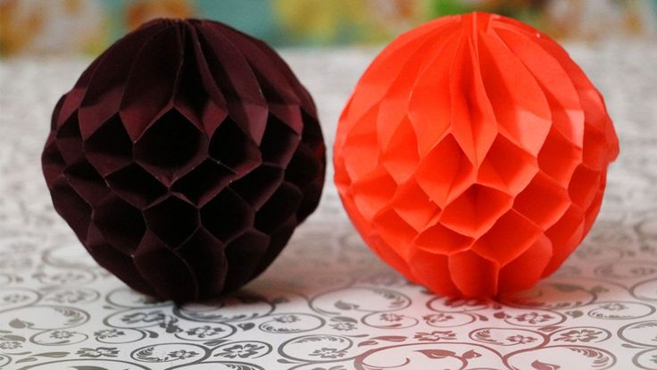 DIY Paper Honeycomb Ball   Easy Paper Crafts