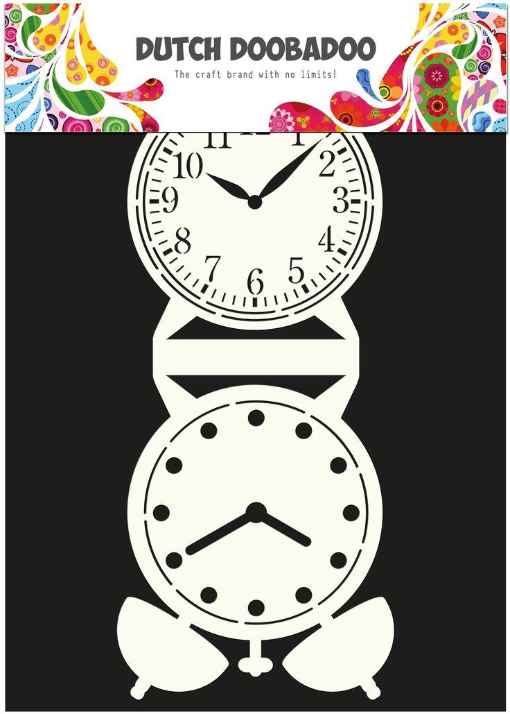 470.713.505 Dutch Card Art Clock 1 st.