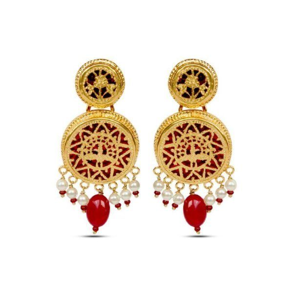 Earring Designs In Gold For Marriage For Brides With Inspiration Latest Earrings Design Designer Earrings Earrings