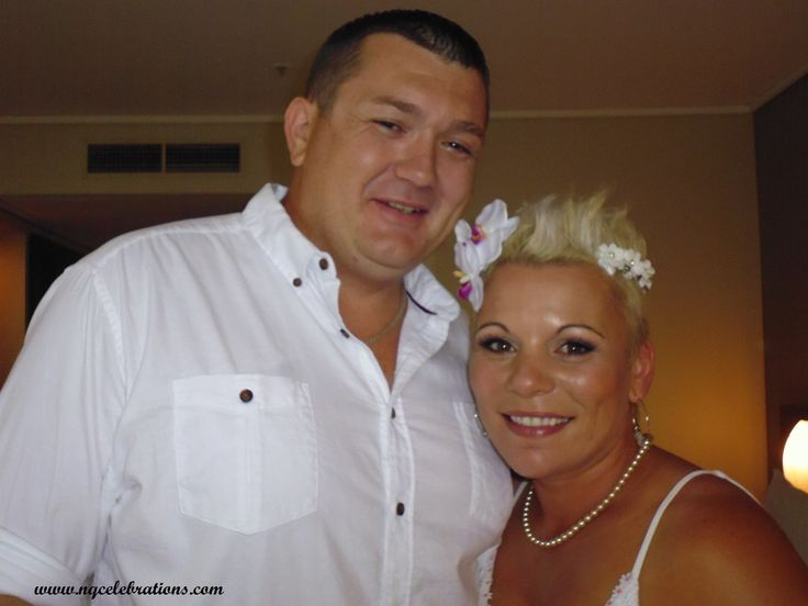 Leonie and Michael married on 8th March by Cairns Celebrant Janine Meakin