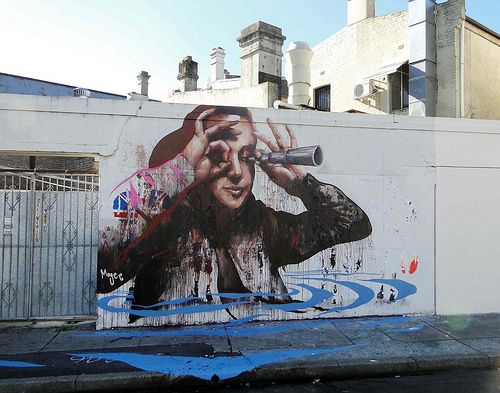 Fintan Magee - Drowning observer, Newtown, Sydney