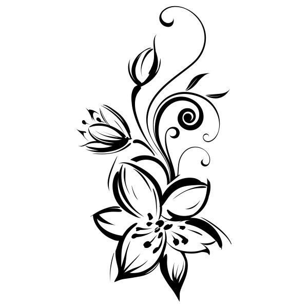 Dessin Tribal Fleur comment dessiner fleurs kawaii tape par tape dessins kawaii facile