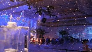 indoor Snow machine party