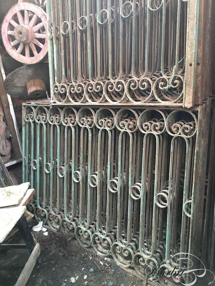 Hekwerken - Oude bouwmaterialen - Burbri