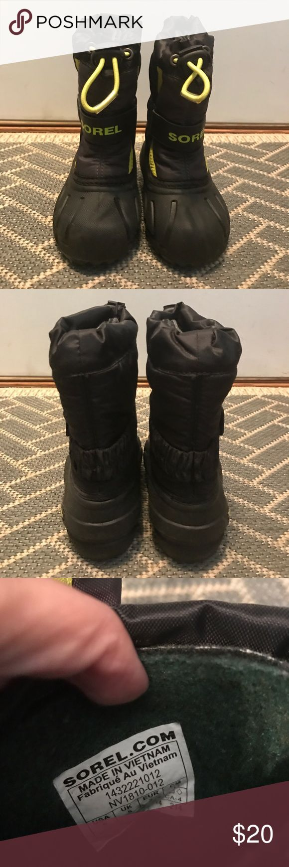 Sorel Toddler Snow boots Gently used snow boots perfect for boys or girls! Sorel Shoes Boots