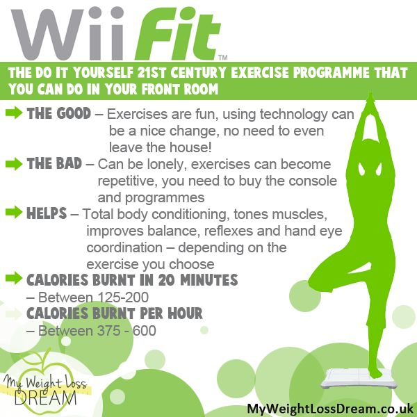 Lose weight while having fun with Wii Fit #weightloss #weightlosstips
