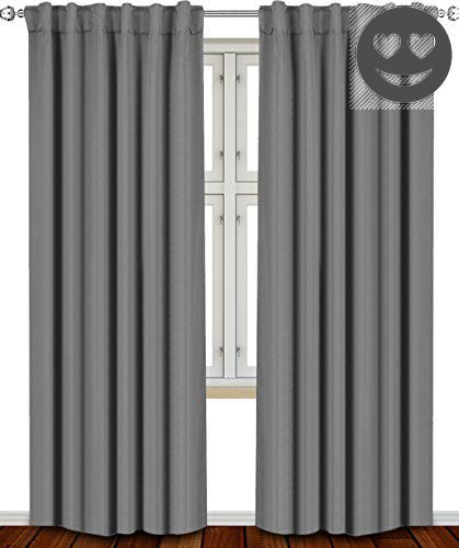 #furniture We bring you luxury Thermal #Blackout Room-Darkening Curtains at an affordable price! Our Grommet Top Thermal Blackout Room Darkening Curtain 2-Packs ...