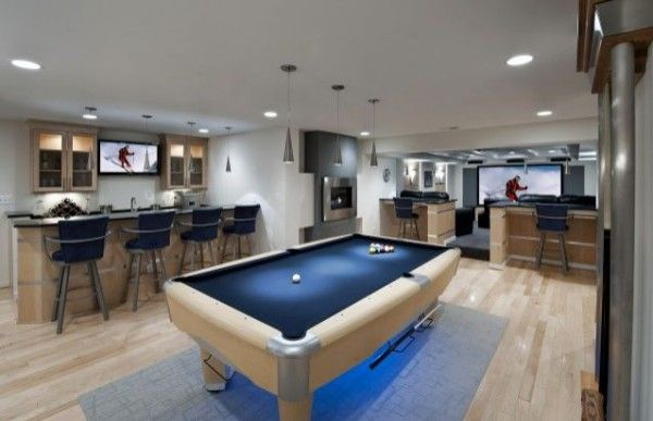 Wohnzimmer oder Spielplatz im Keller gestalten - coole Ideen  - #Wohnideen