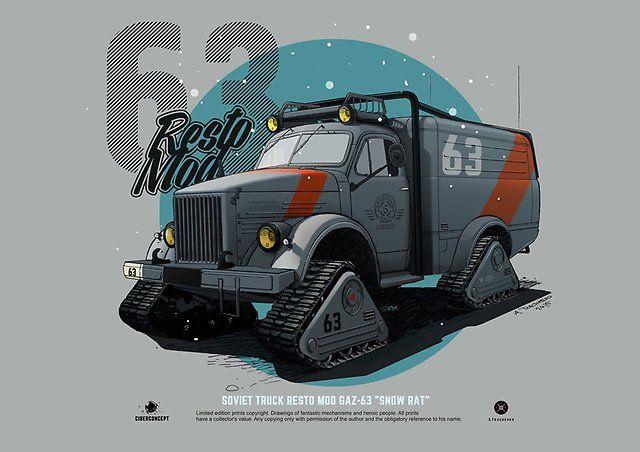 Продается ГАЗ 63 - ГАЗ 63, 1965 - Дома на колёсах в Иркутске