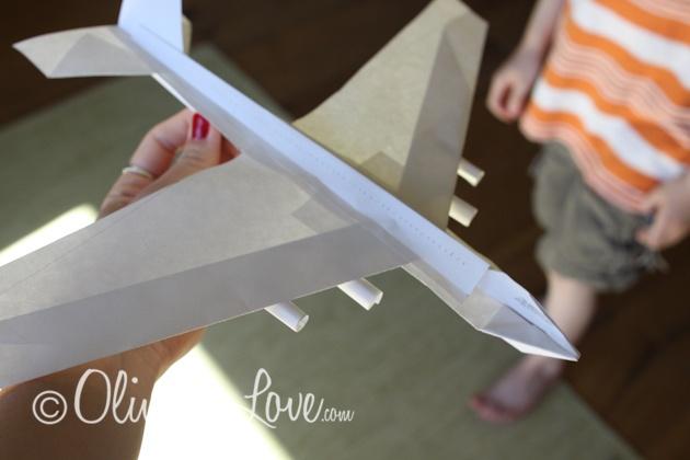 747 Jumbo Jet Paper Airplane For The Kids Pinterest