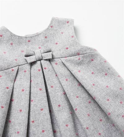 { sewing inspiration } DRESS WITH HEARTS