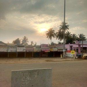 Sunrise, Near Chennakesava temple, Belur, Karnataka