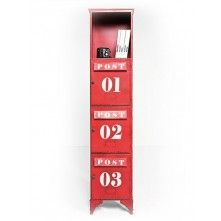 Kare Design Post Kontor Kabinet / Brievenbuskast Rood