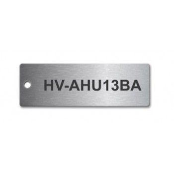 Laser Engraved Stainless Steel Tag 75x25mm