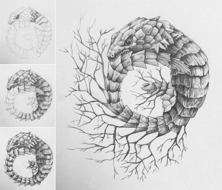 #illustration #tattoo #drawing