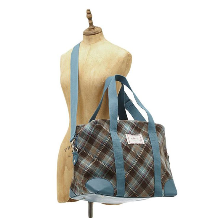 We stock a great range of the lovely Ness Handbags and Purses including the Ally Doe Check Holdall at Gifts & Collectables - Same day despatch & fast delivery