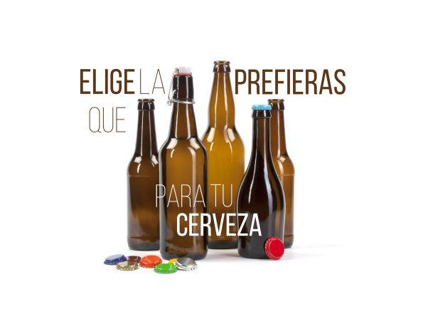 Amplia gama de #botellas de #cerveza y cierres. juvasa.com