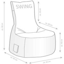 Feb 3, 2020 - Sitting Point Swing Modo Tap Xl Sitzsack schwarz Sitting Point