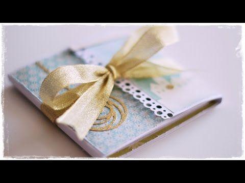 Navidad #3 - Tarjeta Navideña o Mini Album - YouTube