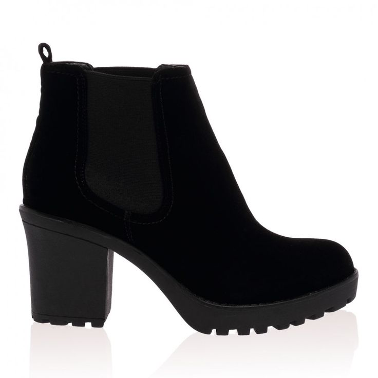 Lilli Black Suede Boots