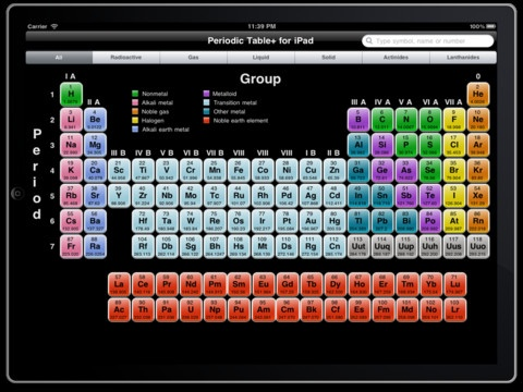 16 best physical sciences apps images on pinterest physical periodic table lite on the app store urtaz Choice Image