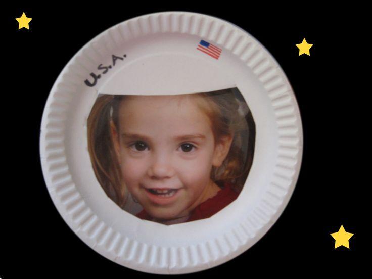 astronaut helmet craft preschool - photo #5