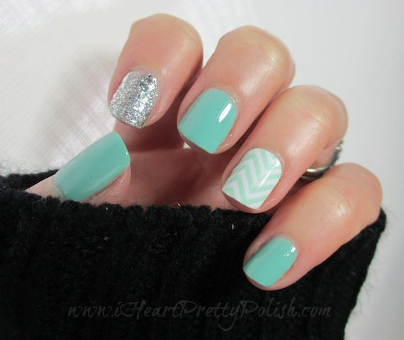 By Essie Rae. Essie Turquoise & Caicos  OPI Crown Me Already  Jamberry Nail Shield - Chevron @Bloom.com
