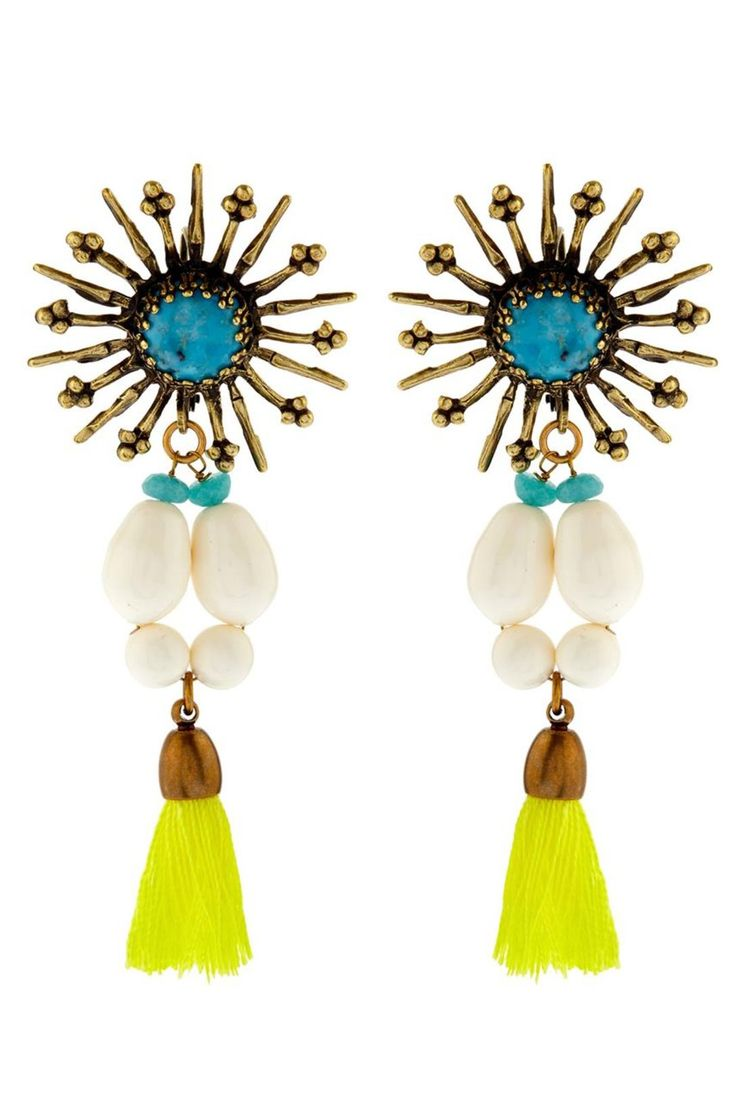 25 Look-At-Me Buys From The Matches Fashion Sale #refinery29  http://www.refinery29.com/matches-summer-sale#slide-15  A pair of Art Deco ear jewels worthy of a closer look. Wear these beauties with your favorite summer T-shirt or even next weekend's boyfriend jean.