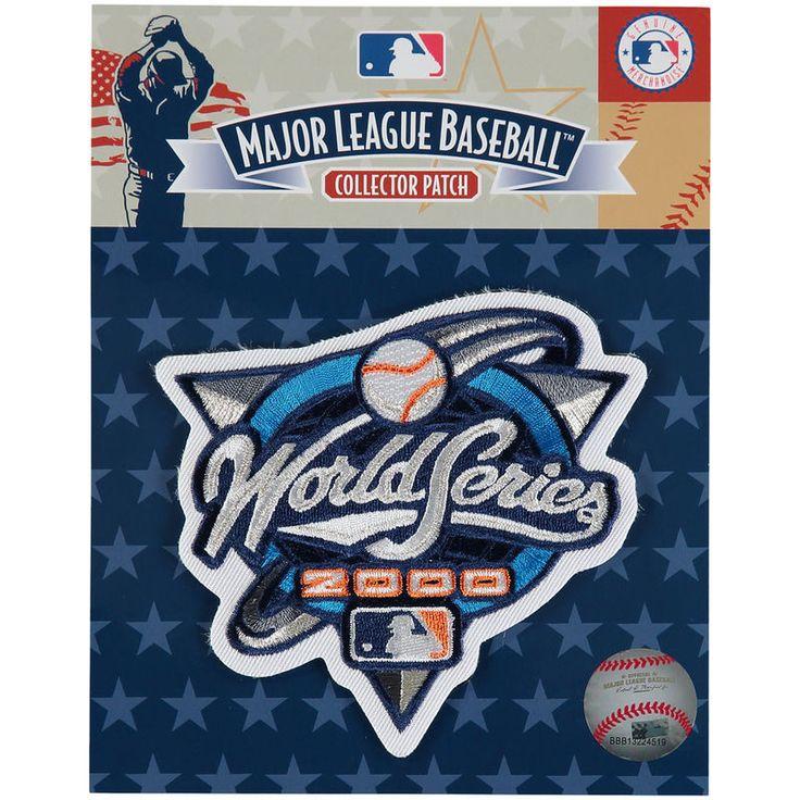 "MLB 4"" x 4"" 2000 World Series Patch"