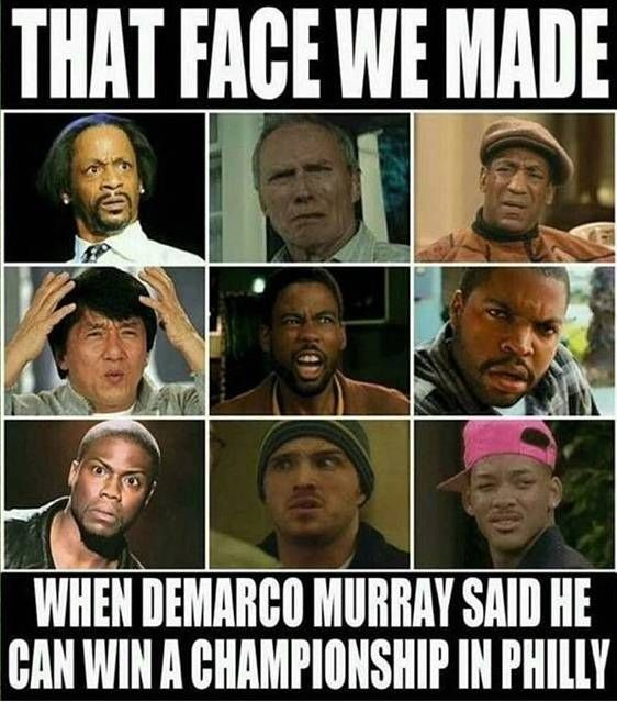 The 25 funniest memes from Cowboys-Eagles: Merciless ripping of DeMarco Murray | Dallas Morning News
