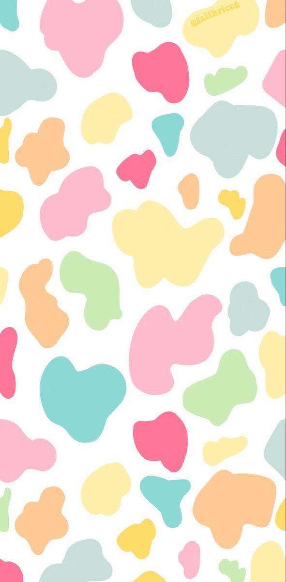 Pinterest Faithrice6 Rainbow Wallpaper Iphone Cow Print Wallpaper Rainbow Wallpaper