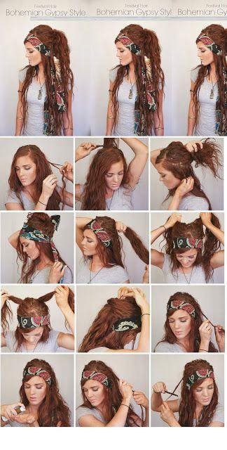 Festival Hair Week : Bohemian GYPSY Style                                                                                                                                                                                 More