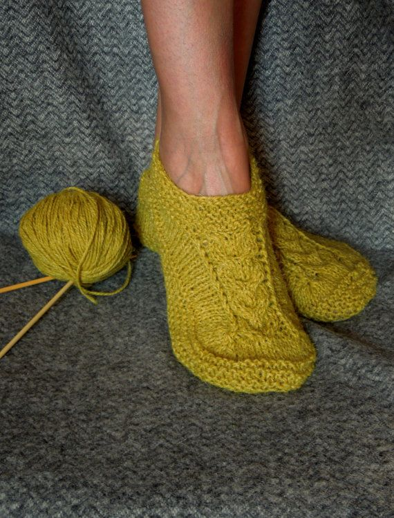 Hand knit slipper socks and handmade Baltic by BeautyByBeatris