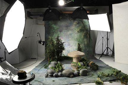 Мистическая фотостудия. Креативные идеи для фотосессии в студии | #Creative #photography #studio. How to make your own studio