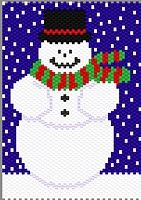 Jolly Snowman by Amy Maney