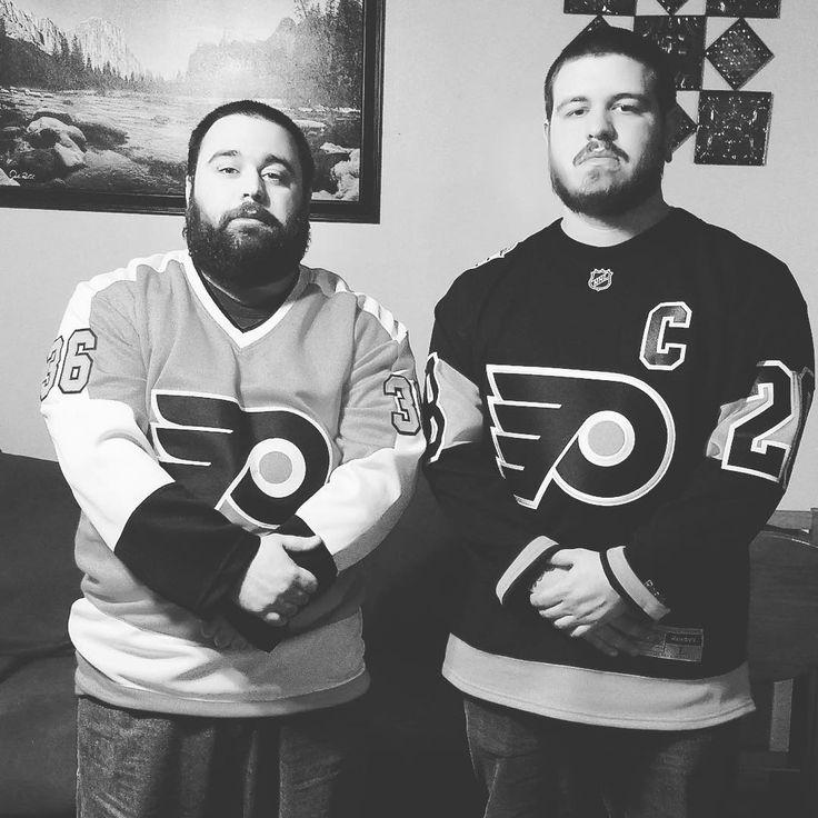 After the game Saturday  #Flyers #Philly #philadelphia #philadelphiaflyers #hockey #icehockey #nhl #fun #excited #ballin #broadstreetbullies