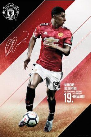 Manchester United Rashford 17/18 Maxi Poster