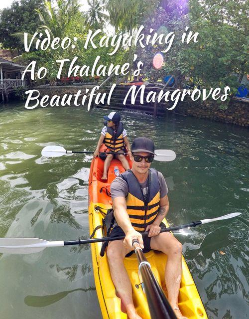 Video: Kayaking in Ao Thalane's Beautiful Mangroves