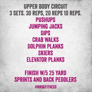 Bikini bootcamp workout